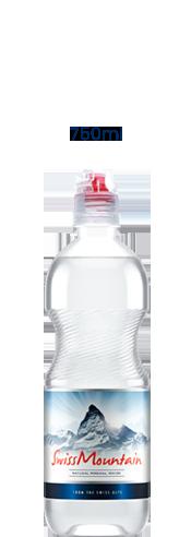 SwissMountain 750ml Natural water bottle
