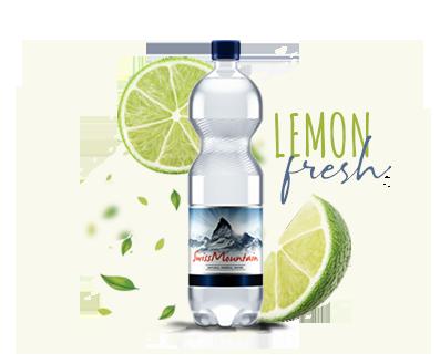 SwissMountain Lemon Fresh water